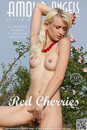 Check out this new softcore image set in which a lovely blonde teen sensually caresses her naked body on a field.