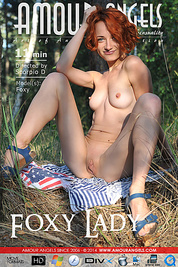 She loves to spend time in the woods where she can be wild and free to express her horniness in her hot movie.