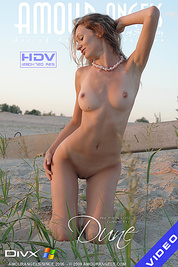 Fresh body is enjoying the fresh wind and sunshine that are petting her sweet body
