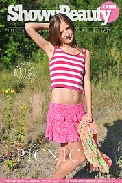 Lovely slender babe likes to pose naked on the sun in wild environment. Wilderness out as well inside is her best asset.