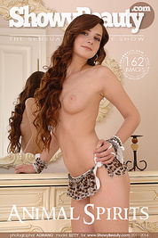 Everyone who loves natural beauty will be amazed by this brunette glamour model, who poses in her sexy lingerie.